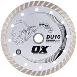Ox DU10 Standard Turbo General Purpose Diamond Blade