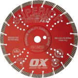 Ox Professional MPSS Superfast Segmented Turbo Diamond Blade