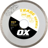 Ox Trade TCT Continuous Rim Diamond Blade   Ceramics