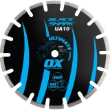 Ox Ultimate UA10 Black Shark Segmented Diamond Blade   Asphalt
