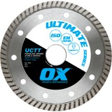 Ox Ultimate UCTT Thin Turco Diamond Blade   Porcelain